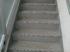 新座市 アパート掃除 階段
