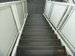 佐倉市 アパート 階段清掃