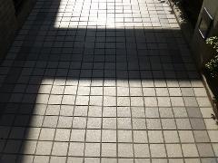 八代市 マンション 共用通路掃除