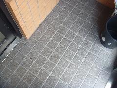マンション 平塚市 共用通路掃除