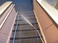 マンション 中野区 階段清掃