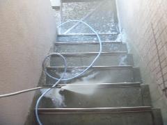 マンション さいたま市 階段清掃