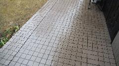 新宿区 アパート 共用廊下清掃