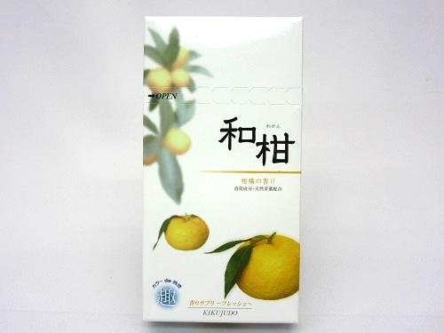 ★煙の少ないお線香 和柑 100g