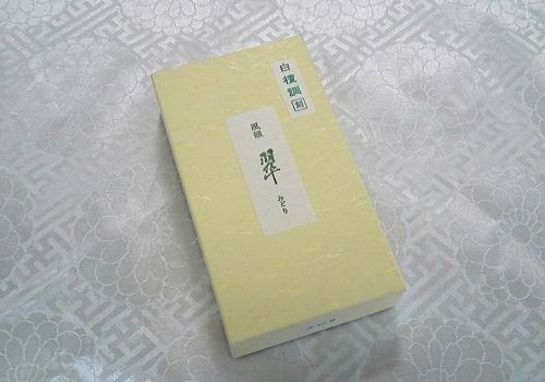 ◇焼香 風韻 翠【みどり】 白檀調 125g 【みのり苑】