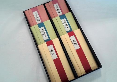 ★かりん物語 紙箱6入 3種のお線香詰合せ