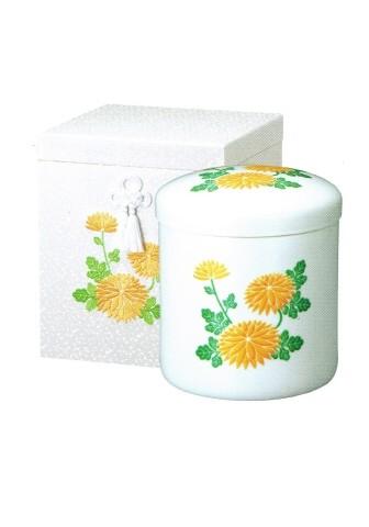 ◇骨箱 花柄刺繍箱 6.0寸