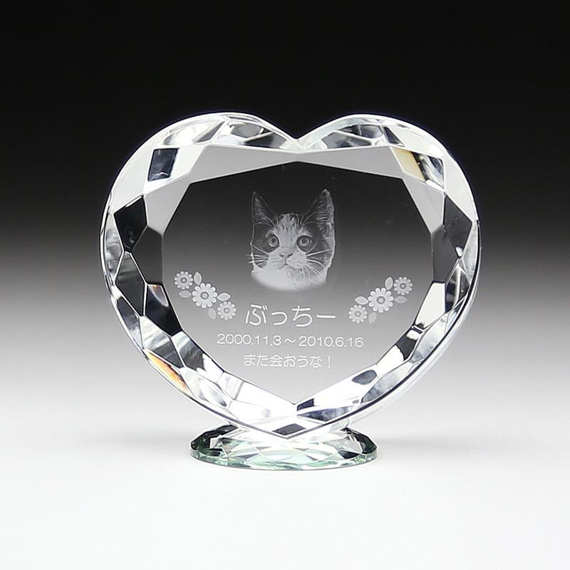 ◆KP-6クリスタル位牌 KP−6 小 レーザー彫刻