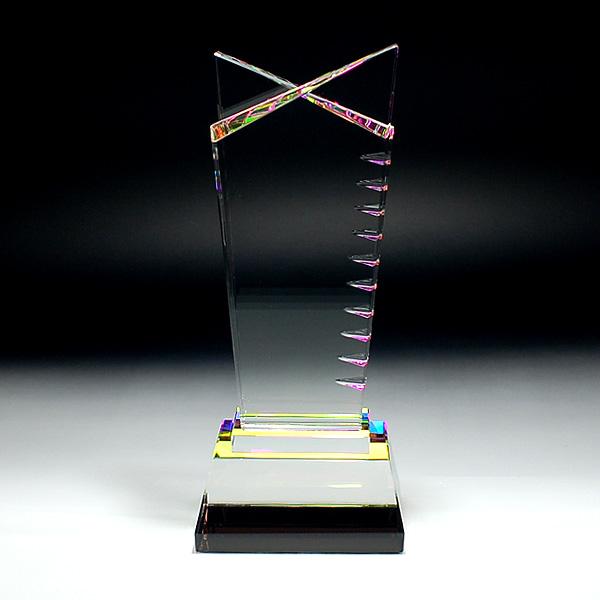 ◆CR-2Bクリスタル位牌 CR−2B 中 サンド彫刻