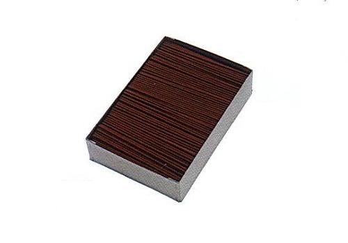 ★茶ゴマ線香 3�o×14.8�p 約900g入×20函