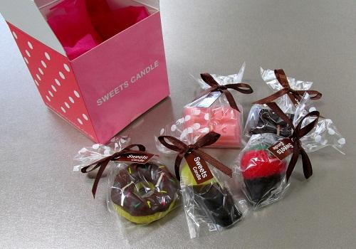 ●スイーツキャンドル詰合せ プチスイーツキャンドルボックス チョコディップ ※在庫限り 【カメヤマ】