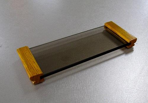 ◆ガラス仏器膳 アッシュ 5.0寸