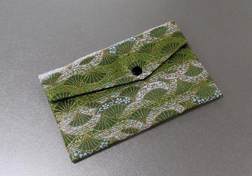 ◆念珠袋・数珠袋 東山 緑系