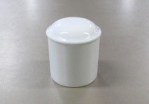 ▲骨壺・骨壷 白上骨カメ 2.0寸×1ケース(6ヶ入)