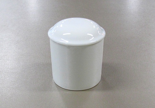 ▲骨壺・骨壷 白上骨カメ 2.5寸×1ケース(6ヶ入)