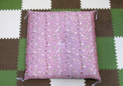 ●圧縮座布団 美桜 ピンク