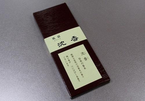 □有煙線香 風韻沈香 5本入 【みのり苑】