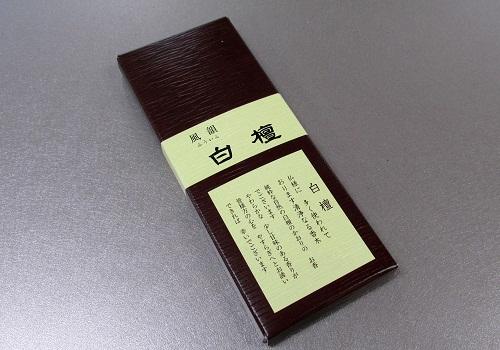 □有煙線香 風韻白檀 5本入 【みのり苑】