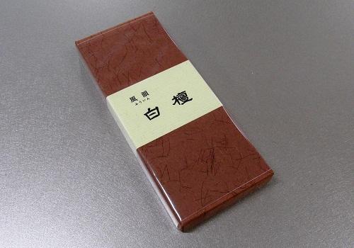 ■有煙線香 風韻白檀 約18g入 【みのり苑】