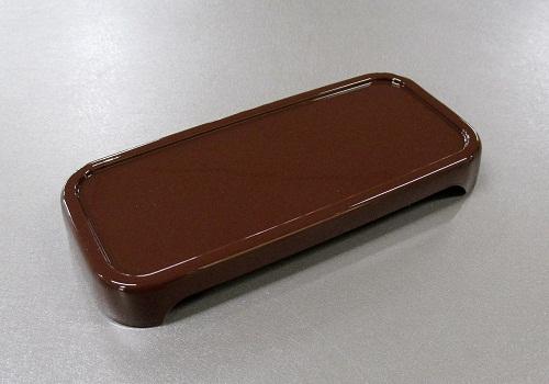 □こだち PC製仏器膳 5.0寸 ブラウン