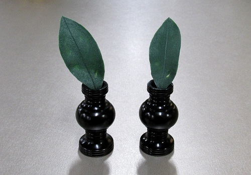 ★造花 在家華鋲用 シキミの葉 2枚
