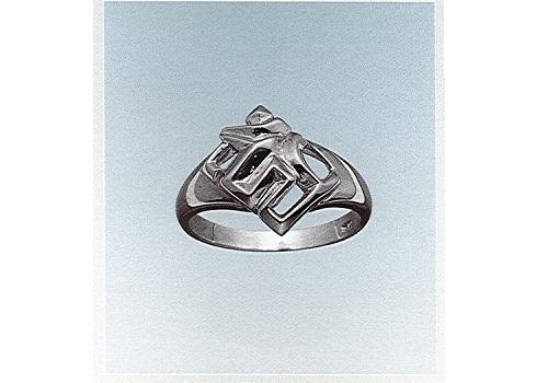 ■銀製サンスクリットリング 梵字指輪