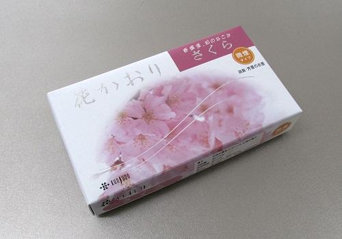 ■煙の少ないお線香 花かおり さくら 約220本入 【薫寿堂】