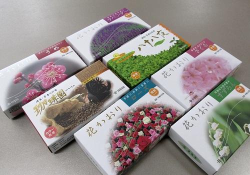 ●薫寿堂 花かおりシリーズ・珈琲園・八十八夜 7種類からお好きな3種詰合