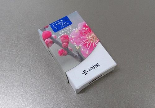 ●煙の少ないお香 花かおり ミニ 梅 【薫寿堂】