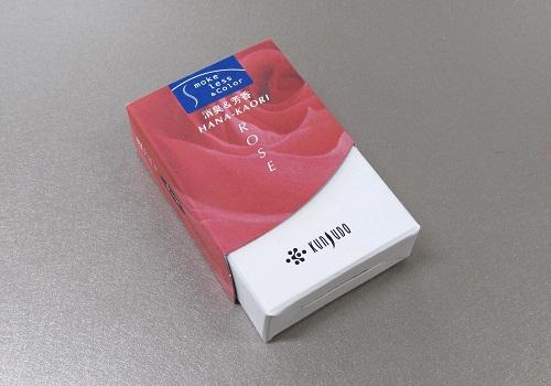 ★煙の少ないお香 花かおり ミニ ローズ
