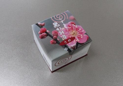 ●煙の少ないお香 花かおり うずまき うめ 【薫寿堂】