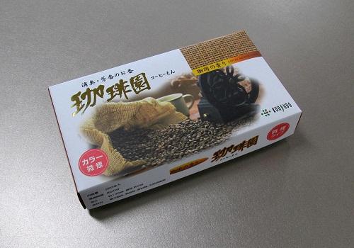 ★煙の少ないお線香 珈琲園 220本入 【薫寿堂】