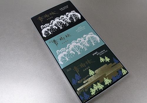 ●香樹林大バラ3箱詰合せ 清澄香樹林・沈香香樹林・香樹林 紙箱入 【玉初堂】