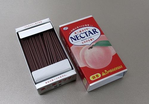 ○煙の少ないお線香 不二家ネクター ミニ寸線香 カメヤマ