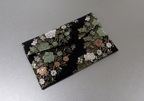 ◆念珠袋・数珠袋 東山 黒系