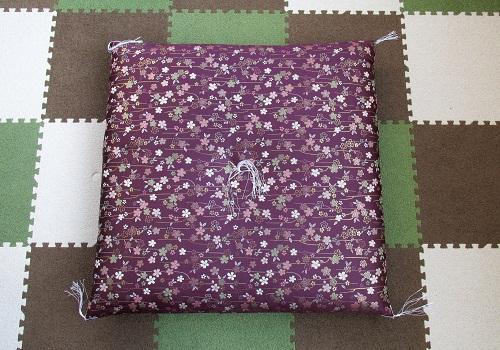 ●圧縮座布団 美桜 紫