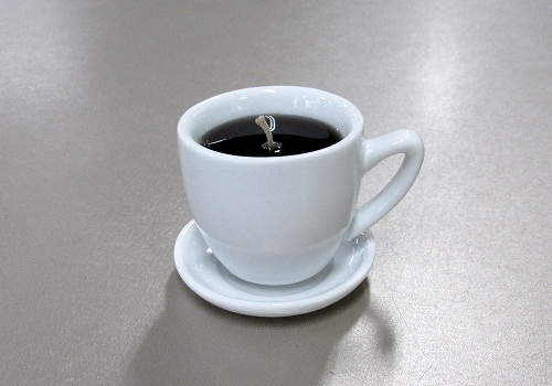 ■ホットコーヒーキャンドル 故人の好物ローソク 【カメヤマ】