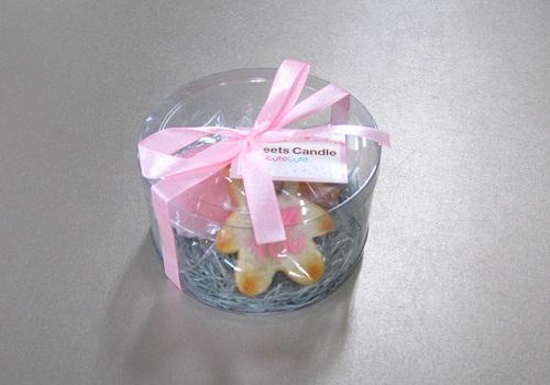 ■プチスイーツキャンドル詰合せ バニラベア 【カメヤマ】