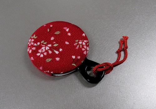 ○和雑貨 手鏡 さくら 赤