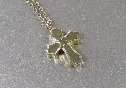 ◇遺骨ペンダント 手元供養 メモリアルペンダント 永遠の十字架
