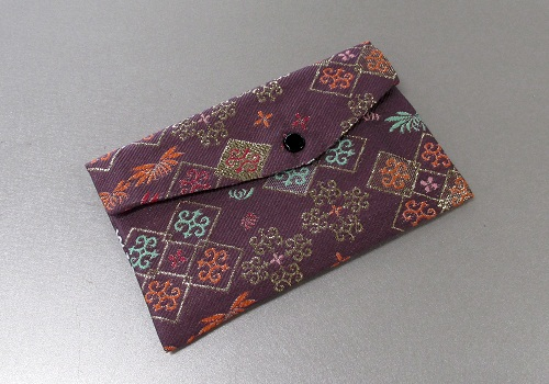 ◆念珠袋・数珠袋 東山 紫系