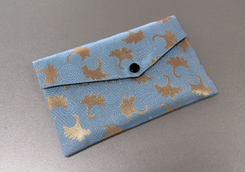 □念珠袋・数珠袋 東山 水色系