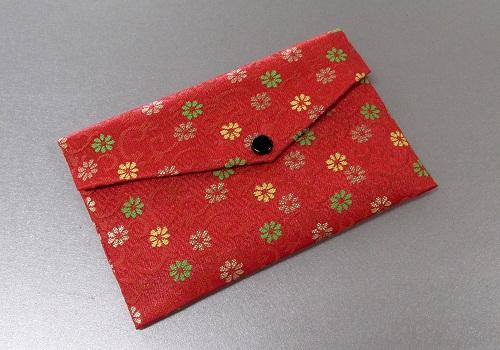 □念珠袋・数珠袋 東山 赤・オレンジ系