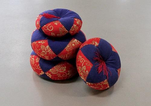 ●丸リン布団 都 2.5号 赤・紺