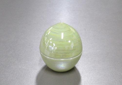 ●ミニ骨壷・骨壺 虹珠 柚子