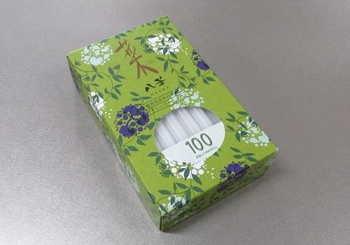 ◆カメヤマローソク  菜 八華100 (燃焼時間約1時間40分)