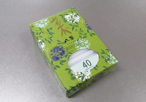 ◆カメヤマローソク   菜 八華40 (燃焼時間約40分)