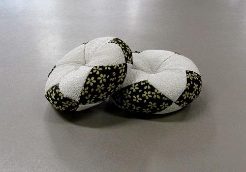 ◆丸リン布団 芽生 2.0号 黒白