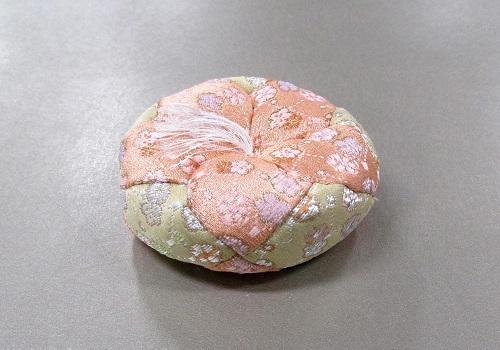 ■丸リン布団 小梅 2.0寸のリン用薄型 そば殻入 ※訳アリ特価品