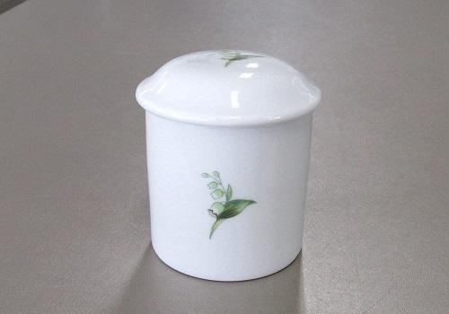 ●マイリトル花柄骨壺・骨壷 2.0寸 すずらん